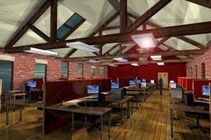 G4 Office Architecture 3D Visuals