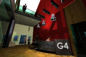 G4 Reception 2 Architecture 3D Visuals
