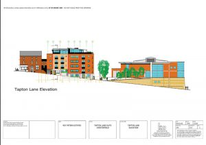 Tapton Lane Elevation Commercial Architecture
